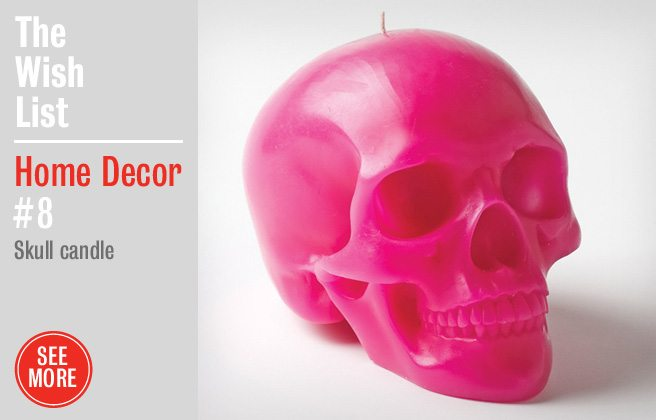 Holiday Gift Guide 2012: a creepy candle for Christmas non-purists