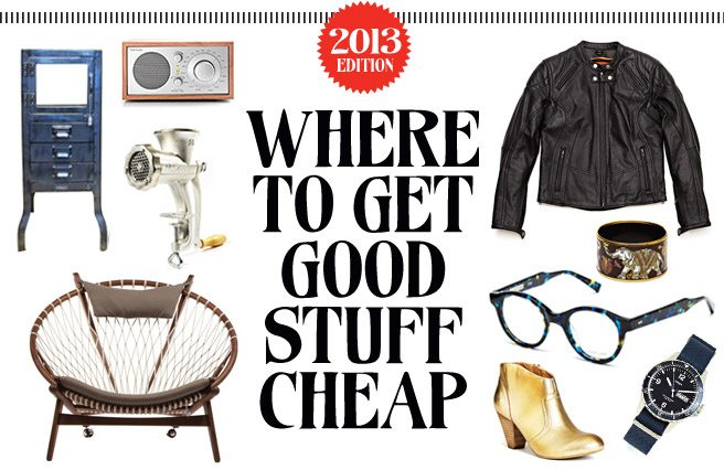 Good Stuff Cheap 2013: The frugalist's guide to designer clothes, trendy accessories and home decor