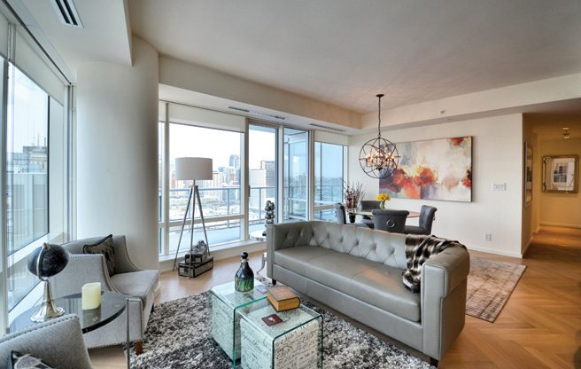 Condomonium: $7,200 a month for a furnished two-bedroom in the Shangri-La