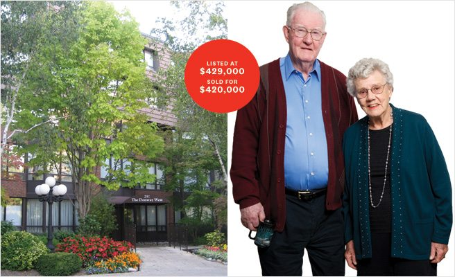 The Sell: for an octogenarian couple, the second time downsizing is the charm
