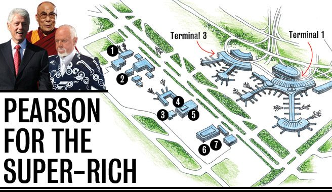 Inside Pearson Airport's ultra-luxe private hub for celebs, executives and well-to-dos