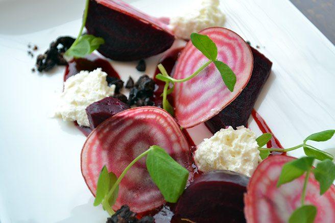 Glas is launching a vegetarian tasting menu