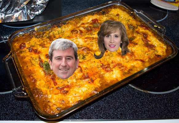 Glen Murray hopes his killer lasagna will make him Ontario's premier