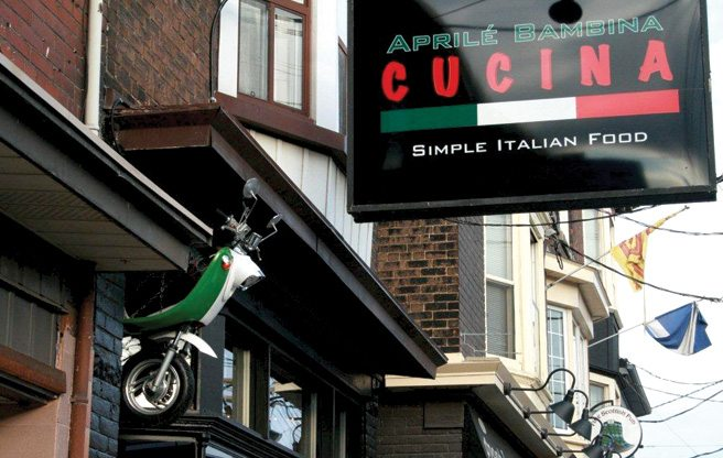 Introducing: Aprilé Bambina Cucina, a new rustic Italian restaurant on Gerrard East