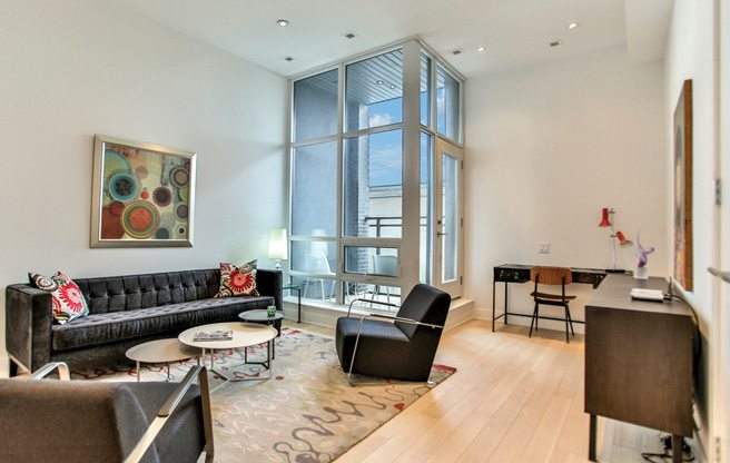 """House of the Week: $825,000 for a """"loft house"""" on the Dupont strip"""
