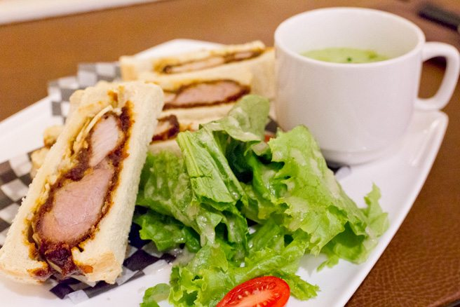 Weekly Lunch Pick: the demi katsu sandwich at JaBistro
