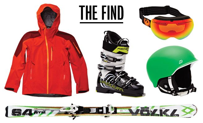 The Find: cool new gear to wear on the slopes