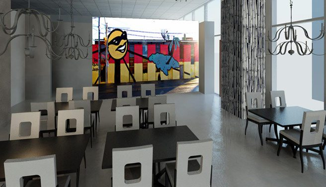 The Real Jerk turns to crowd-funding to bring its old mural to its new space
