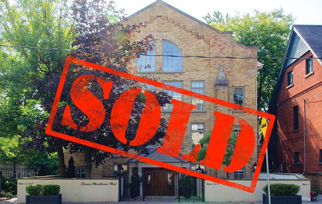 Sold: a church loft with soaring ceilings near Yonge and St. Clair for $1.2 million