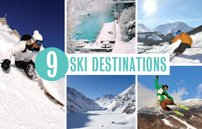 All Downhill From Here: nine top-notch ski getaways