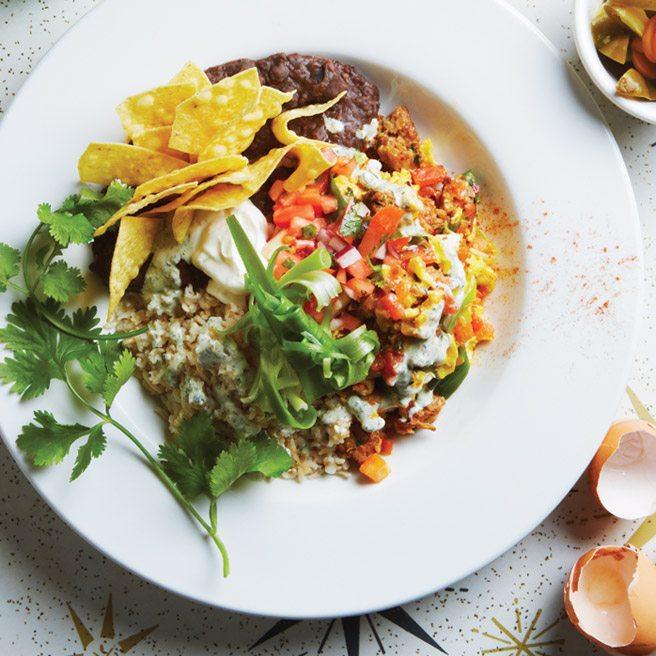 Recipe: Huevos migas from Lady Marmalade, a refined kitchen sink breakfast