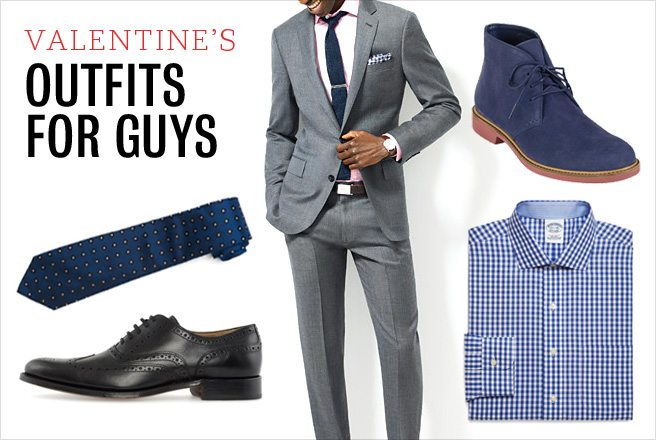 What to wear on Valentine's Day: three slick looks for the fellas