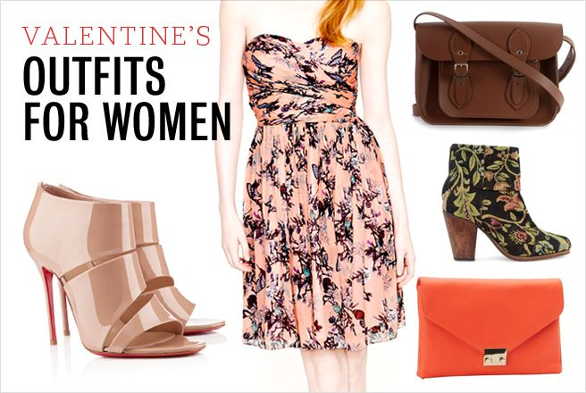 What to wear on Valentine's Day: three stylish outfits for women