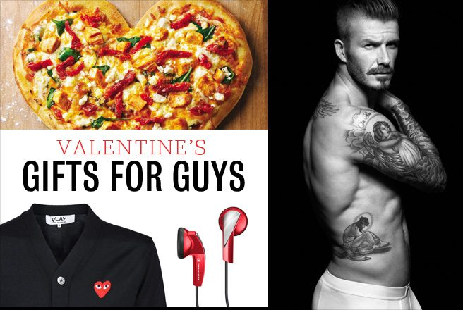 Valentine's Day Gift Ideas for Him: 6 gift ideas for guys, from light-hearted to titillating