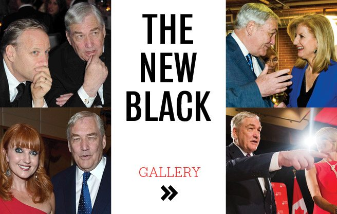 Conrad Black, Party Hopper: the baron's packed social calendar and famous friends