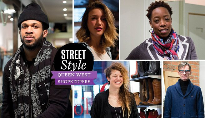 Street Style: Queen West's shopkeepers show edgy layers and how to pull off a toque