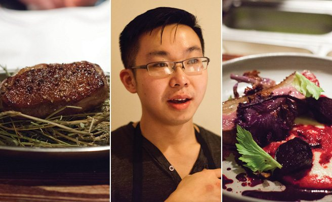 GALLERY: Chantecler launches its new tasting menu