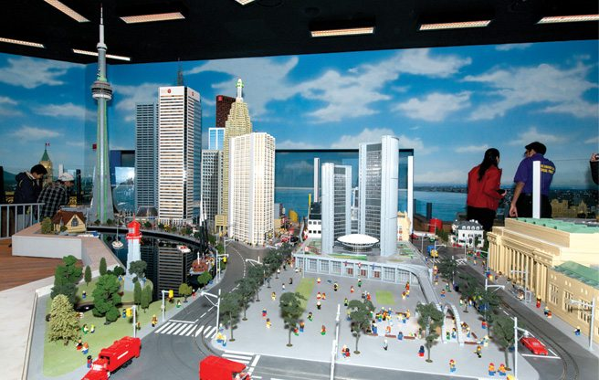 Slideshow: awesome Toronto landmarks made of Lego at the Legoland Discovery Centre