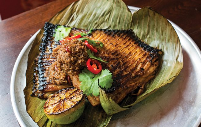 Must-Try: the delicious, deadly chili stingray at Hawker Bar
