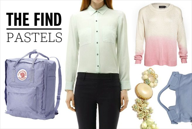 The Find: pretty pastel clothing and accessories to take you from winter to spring
