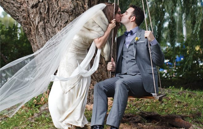 Real Weddings 2013: a music-themed wedding on Toronto Island and Queen West