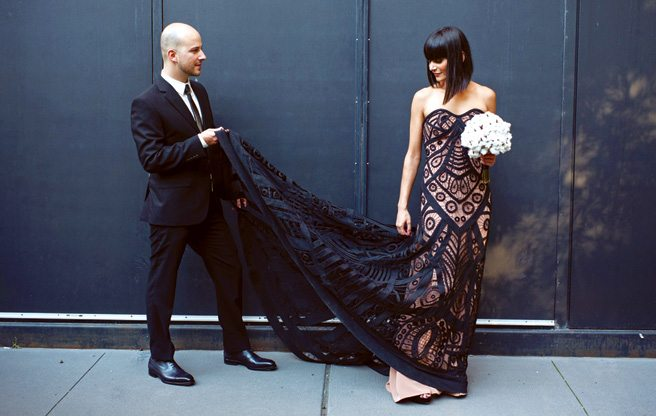 Real Weddings 2013: a fanciful wedding at the Royal Conservatory of Music