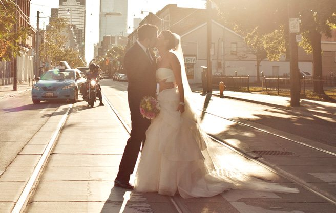 Real Weddings 2013: a contemporary-vintage wedding at Berkeley Church