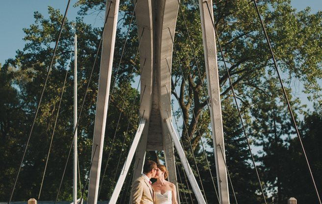 Real Weddings 2013: a summer camp-inspired wedding at the Royal Canadian Yacht Club