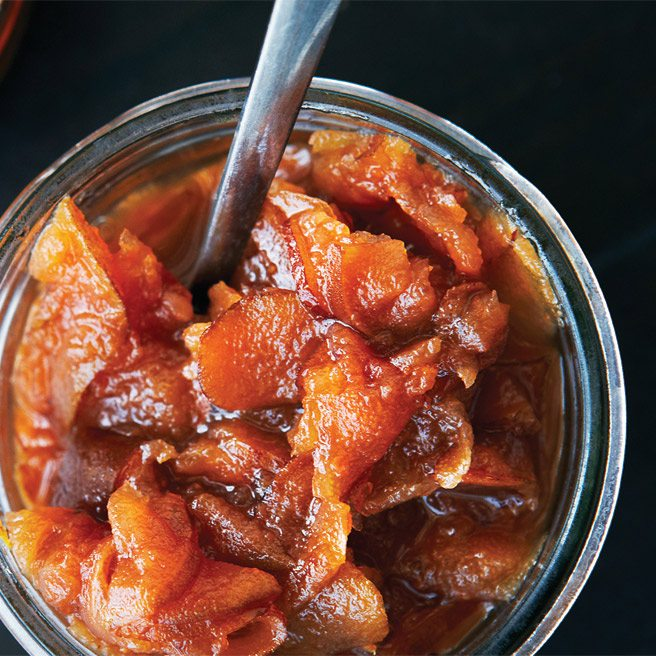 Recipe: Pear chutney from Stasis, a sweet and garlicky accompaniment for charcuterie and cheese