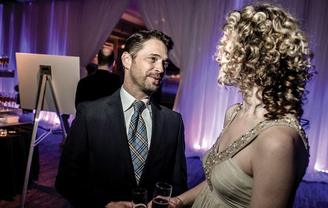 Party Pages: Jason Priestley searches for poutine at Canadian Stage's Theatre Ball: Happy 25!