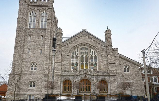 Condo of the Week: $970,000 for a three-bedroom in a stone church in Roncesvalles