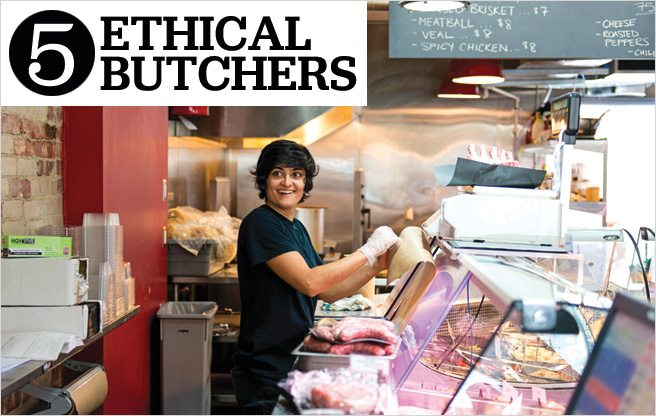 Five top butchers for carnivores with a conscience