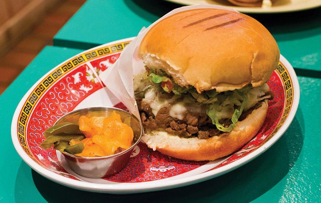 Must-Try: the Bulgogi Torta from A-OK Foods, a Mexican-Korean spin on a fast food classic