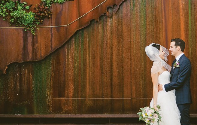Real Weddings 2013: a DIY vintage wedding at Evergreen Brick Works