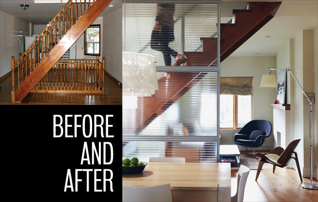 Extreme Makeover: a new staircase adds space and light to a narrow semi in The Beach