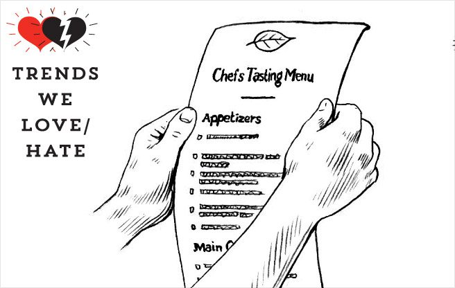 Trend We Love/Hate: ever-longer tasting menus