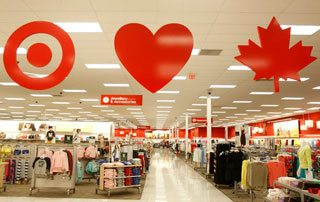 Three Target stores are now open in Toronto