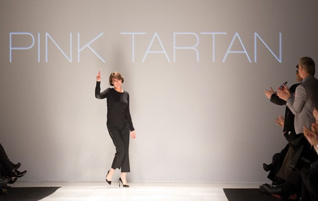 Toronto Fashion Week: Pink Tartan shows retro luxury and fake blond hair for fall 2013
