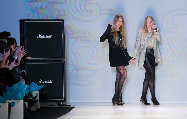 Toronto Fashion Week: an ode to '90s grunge at Chloé Comme Parris fall 2013