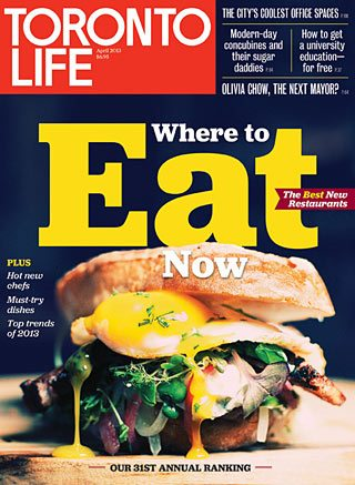 Our annual Where to Eat Now issue, including the city's best new restaurants, is on newsstands