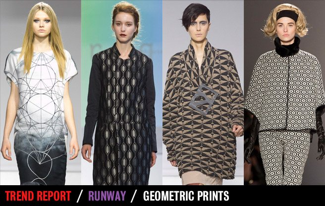 Runway Trend Report: geometric prints at Toronto Fashion Week