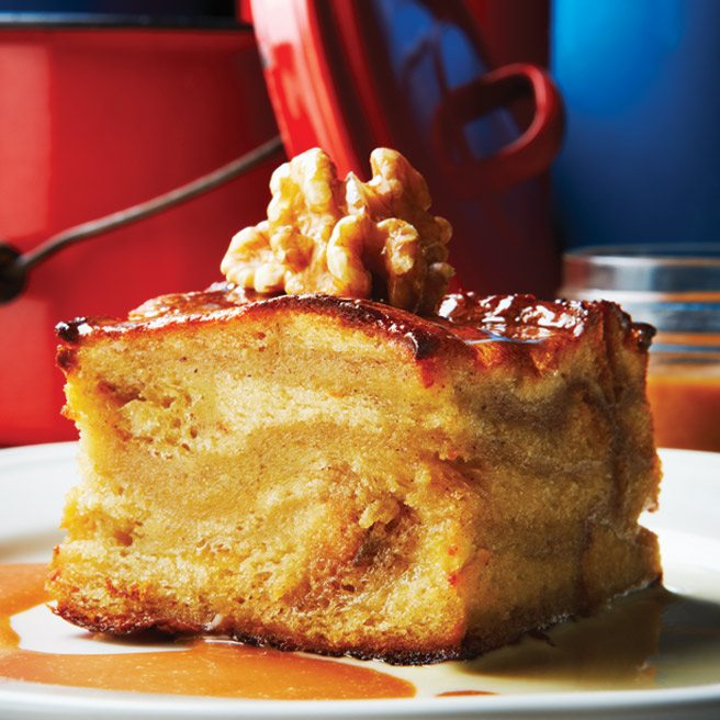 Recipe: dense, moist banana bread pudding from The Westerly