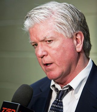 Brian Burke is suing Internet trolls who say he impregnated Hazel Mae