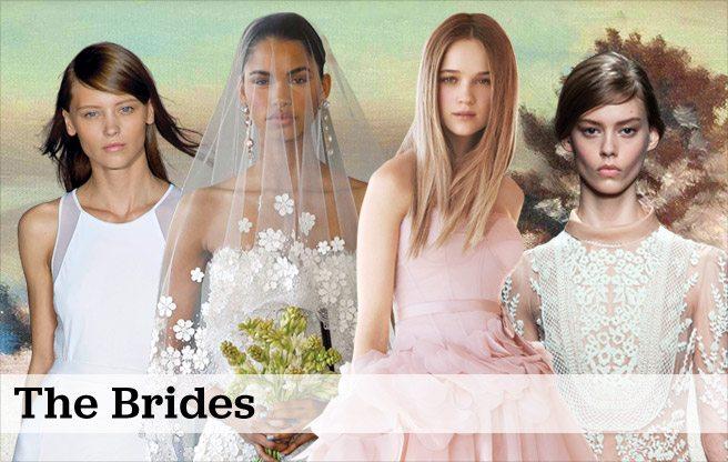Weddings 2013: bridal gowns