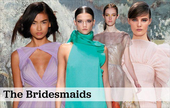Weddings 2013: Bridesmaids' dresses