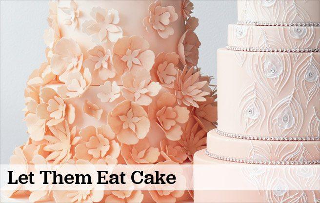 Eight of Toronto's most creative wedding cakes