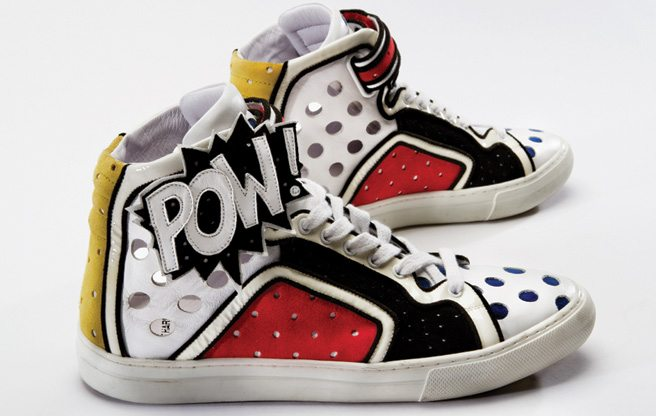 Slideshow: the iconic, crazy cool shoes at the Bata Shoe Museum's new sneaker exhibition
