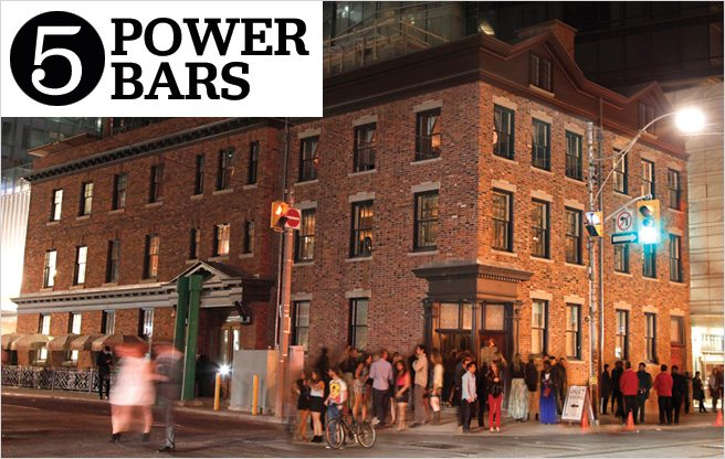 Toronto Life Eating and Drinking 2013: Power Bars