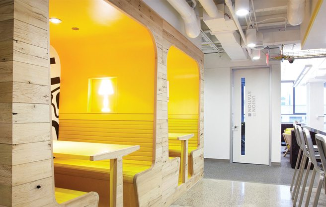 Great Offices Googles envyinducing home base at Bay and Richmond