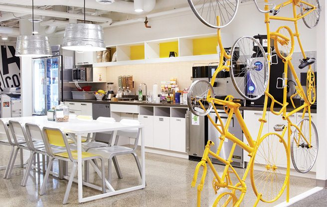 Great Offices: Google's envy-inducing home base at Bay and Richmond